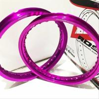 Velg Rossi Rossy WM 140 160 185 215 Ring 14 Black Silver Blue not tdr