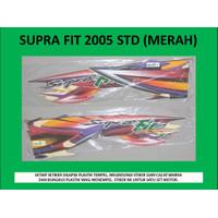 Motor Honda Supra Fit 2005 Stiker / Lis / Striping / Stripping