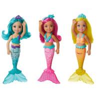Barbie chelsea dreamtopia mermaid boneka putri duyung original mattel