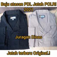 Baju Atasan PDL Hitam|Coklat Jatah POLRI terbaru 2021