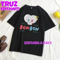 KAOS T-SHIRT KPOP BONBON TRUZ CHARACTER KIM JUNKYU TREASURE MEMBER