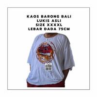Terlaris Kaos Barong Asli Lukis Bali Big Size Jumbo Size LD 76 PJ 75