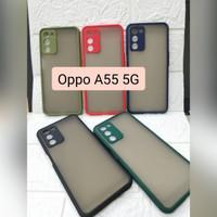 Hardcase My Choice Aero Bumper Case Oppo A55 5G Case Dove Ring Camera