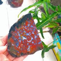 pancawarna kembang klawing bahan akik bukan kalimaya opal garut AP38