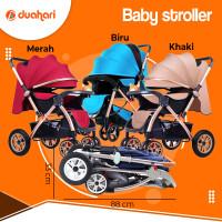 Baby Stroller Kereta Dorong Bayi Cabin Size Foldable Portable