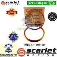 Velg Ring 17 14 140 160 Motor 3 Tone Scarlet