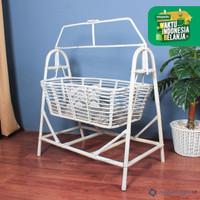 Baby bassinet rotan | ayunan bayi | keranjang tidur