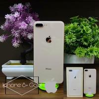 APPLE IPHONE 8 Plus 64GB FULLSET ORi 100% SECOND MULUS NORMAL GARANSI - GOLD