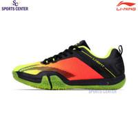 New Sepatu Badminton Lining Saga Lite 3 Lime / Black AYTQ092-3