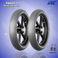 Paket Ban Motor SLICK RACING COMPOUND / IRC FASTI 1 90/80 & 90/80 R17
