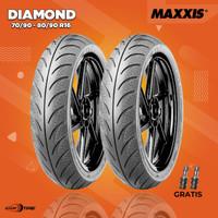 Paket Ban Motor IMPOR MAXXIS DIAMOND 70/90 & 80/90 R16 / SKYWAVE-NOUVO