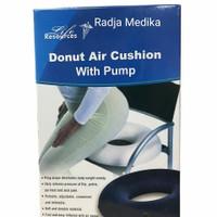 Bantal Ambien Wasir/Bantal Donut Air Cushion With Pump