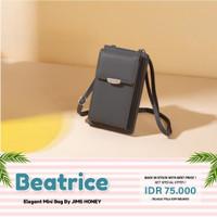 Jims Honey - Tas Mini Selempang Beatrice Mini Bag Original Jimshoney - Grey