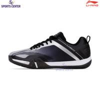 New Sepatu Badminton Lining Saga Lite 3 Grey / Black AYTQ092-4