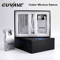Cuvave 2.4G Wireless Guitar System Rechargeable 30 meter Transmission