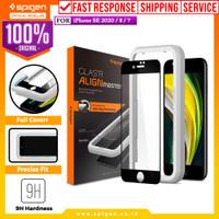 Tempered Glass iPhone SE 2020 / 8 / 7 Spigen AlignMaster Full Cover