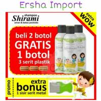 Shirami Shampoo Penghilang Anti Kutu Anak