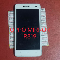 LCD Touchscreen plus frame OPPO MIRROR FIND R819 Original copotan