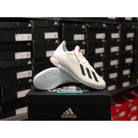 Sepatu Futsal Adidas X 19.3 in White pink EG7153 Original BNIB