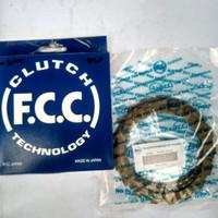 Kampas Kopling / Clutch FCC Japan Karisma / Supra X 125