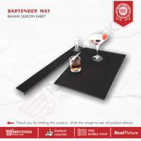 BAR MAT BARTENDER RUBBER BAR SPIL MAT   KARET TATAKAN GELAS