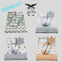 Bedding set bayi - Bedcover Bantal Guling set - Gylfie
