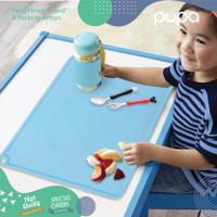 Alas Tatakan Makan Bayi Baby MPASI Silikon Food mat Placemat Silicone