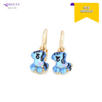 Meilyn Anting Jurai Anak Gold Motif Kuda Poni Biru Cat Emas 0271160813