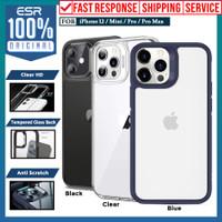 Case iPhone 12 Mini ESR Ice Shield Glass Casing Clear Blue
