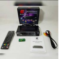 EVINIX H1 RECIVER DECODER SET BOX BOSTER ANTENA TV Digital FREE KABEL - evinix h-1