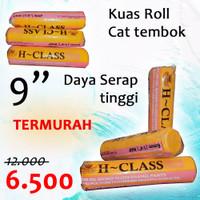 bulu kuas cat roll - euro hclass promo
