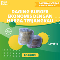 Jual Daging Burger Ekonomis di Medan - Daging Burger Ekonomis Murah