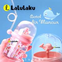 Botol Minum Air Mancur Anak Sedotan Botol Lumba 250ml