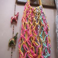 Tas rajutan,macrame,chrochet,shopping bag, tote bag/t shirt yarn