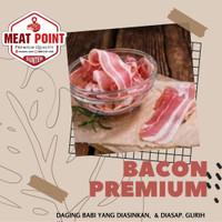 BACON BABI (Pork Bacon/ Daging Babi Asap) - FROZEN FOOD