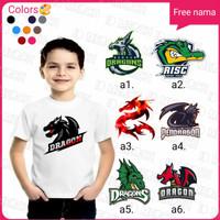 baju/kaos anak logo/ gambar free fire terbaru terlaris termurah