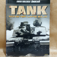 Majalah ANGKASA KOLEKSI Tank Monster Lapis Baja