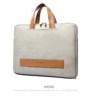 Laptop Asus TUF FX506LH 15.6 Tas Sleeve Leather Premium Bag Grey Pouch
