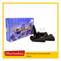 Hio Dharsan Cone Lavender 3,5cm - Hio Dupa India