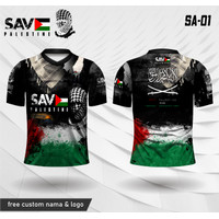 Jersey free palestine end israel occupation kaos palestina baju islami