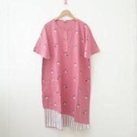 Daster Jumbo 5L / Daster Busui / Baju Tidur/ Dress Kaos Katun Big Size