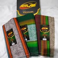 sarung atlas idaman jacquard 580 classic ecer tenun dewasa pria muslim