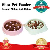 Tempat Makan / Pet Bowl / Mangkok Hewan Anjing Kucing Slow Pet Feeder