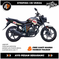 STRIPING VERZA SKY / STIKER VARIASI MOTOR VERZA / DECAL MOTOR