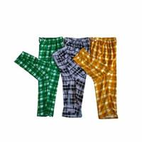 Celana santai/celana tidur cowok/cewek bahan waffle spandex