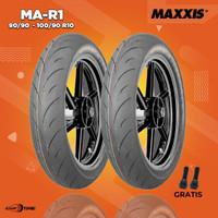 Paket Ban Motor VESPA CLASSIC / MAXXIS MA-R1 90/90-100/90 R10 Tubeless