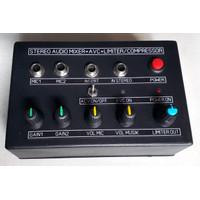 Stereo Audio Mixer & AVC Auto Vocal Control & Limiter Compressor