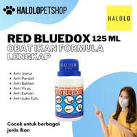 Obat Ikan Red Bluedox Besar 250ML Anti Bakteri, Jamur,Parasit