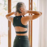 Lee Vierra x Olivia Lazuardy - Freesia Sports Bra Olahraga Wanita