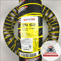 Zeneos ZN62 100/70-17 Ban Motor Tubeless BONUS Pentil